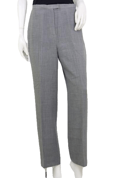 Lafayette New York 148 Woman's Grey Dress Pants Size 10  SKU 000125
