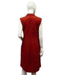 Derek Lam Long Statement Vest Size 6/M (SKU 000047)
