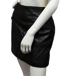 Mossimo 60's Skirt Vegan Leather Size 14 SKU 000038