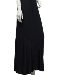 NO SKU Mossimo Comfy Long Black Skirt Size L  (SKU 000
