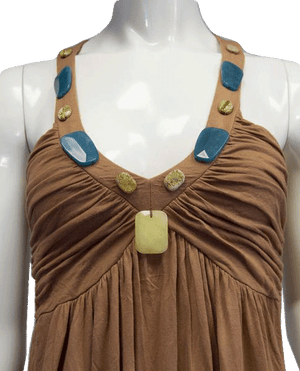 One With Nature Boho Top Size S (SKU 000081)