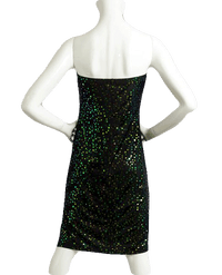 Sequin Strapless Studio 54 Stunner Dress Size Large (SKU 000066)