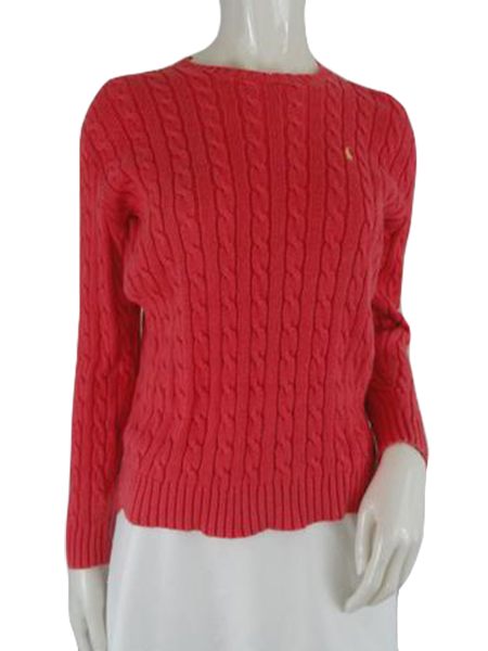 Ralph Lauren Sweater Melon Size S (SKU 000198-1)