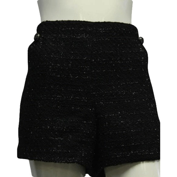 Jennifer Lopez 80's Black Starlet Shorts Size 16 SKU 000070