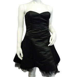 Jessica McClintock Dark Princess Strapless Dress Size 5/6 (SKU 000064)
