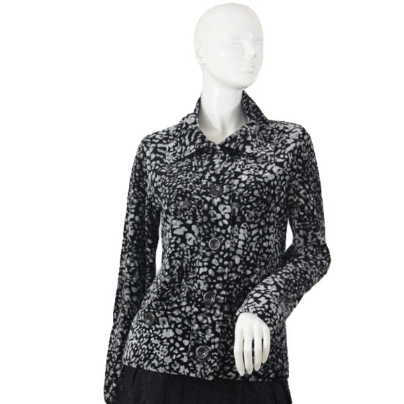 Jones New York Signature Top Animal Print Size Medium SKU 000105