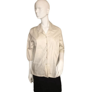 L. L. Bean White Button Down Professional Top Size S SKU 000128