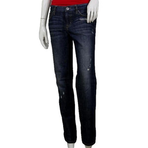 Ann Taylor Distressed Blue Jeans Size 2 SKU 000119