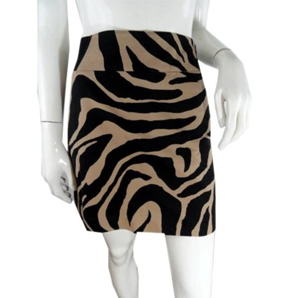 Ann Taylor Loft Skirt Animal Print Size 4 SKU 000239-2