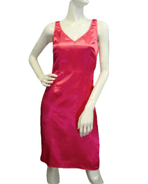 BCBG 80's Pink Silk Dress Size 4 SKU 000077