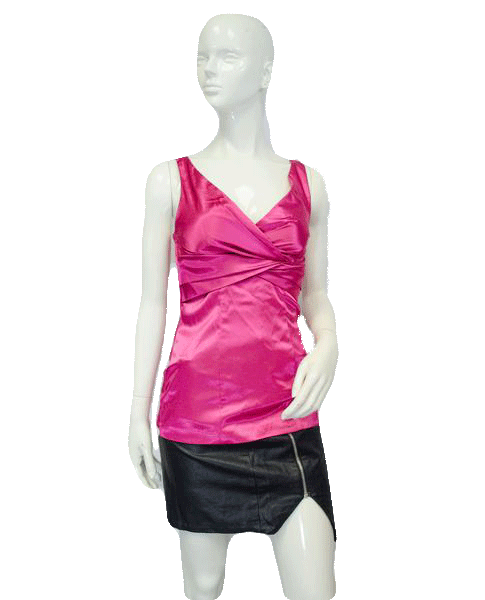Studio Y 80's Top Pink Size Small SKU 000025