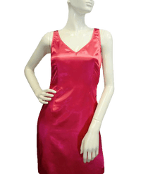 BCBG Pink Silk Dress Size 4 (SKU 000077)