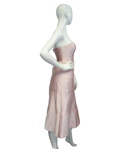 BCBG Light Pink Dress Size 2 (SKU 000064)