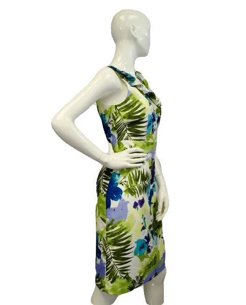 Isabella DeMarco 90's Floral Garden Dress Size 10 SKU 000066
