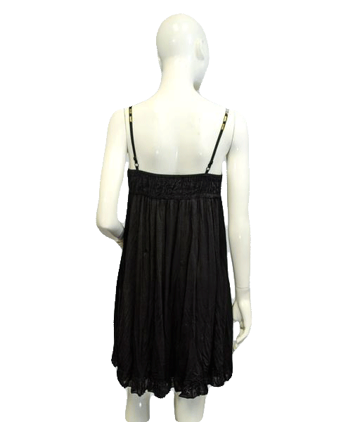 Stunning Embellished Little Black Dress Size Small  (SKU 000067)