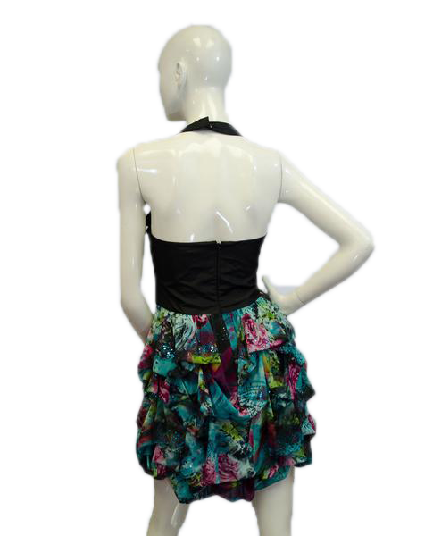 Flower Ball Dress Size 10 (SKU 000075)