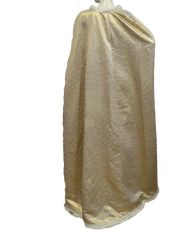 Mardi Gras Gold Dress and Cape Size Small (SKU 000077) - Designers On A Dime - 4