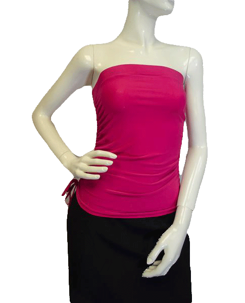 Dynamite 90's Tube Top  Hot Pink Size Large SKU 000023