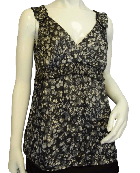Ann Taylor Calming Flowers Top Size 6 (SKU 000010)