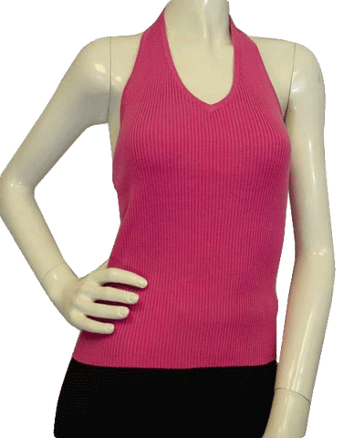 Guess Perfect In Pink Halter Top Size L (SKU 000012)