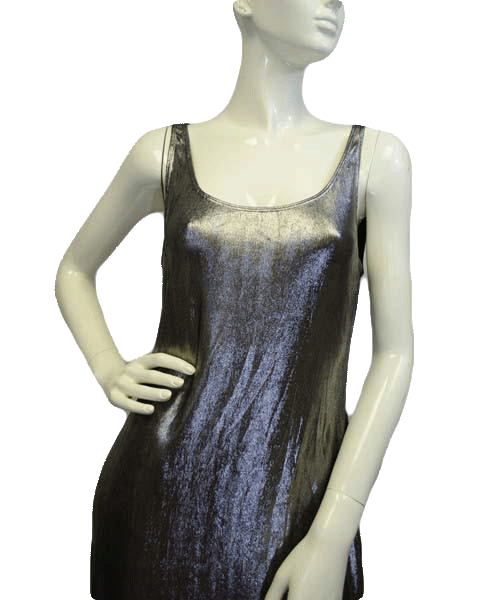 Diamond Girl Silver Tank Dress Size L (SKU 000068)