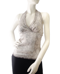 The Limited Shades of Grey Halter Top Size XS (SKU 000025) - Designers On A Dime - 1