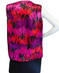 Calvin Klein Ladies Free Your Flare Top Size Large (SKU 000023)