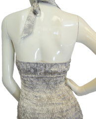 The Limited Shades of Grey Halter Top Size XS (SKU 000025) - Designers On A Dime - 3