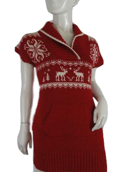 Ralph Lauren Sweater Red Size XL (16) (SKU 000198-3)