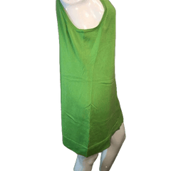 Adrienne Vittadini Lime Green Dress Size L(SKU 000123)