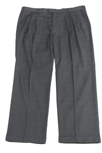 Louis Raphael Rosso Grey Dress Pants SKU 000159