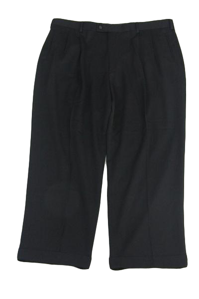 Louis Raphael Classic Black Dress Pants (SKU 000159)