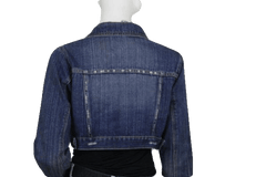 DENIM BLAZER Roommates Blue Jean Denim with Long Sleeves Medium (SKU 000116)