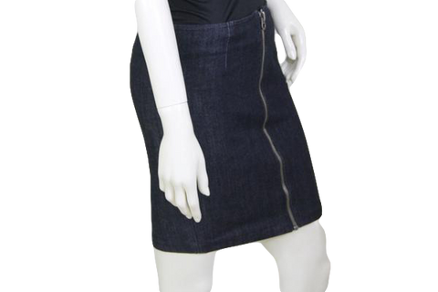 SKIRT Juicy Couture Blue Denim Skirt Size 28 (SKU 000116)