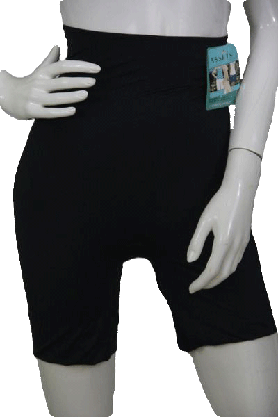 Assets by Sara Blakely Black Thigh Shaper Size 2X SKU 000174