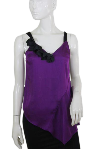 Designers on a Dime Purple Top Size M SKU 000167