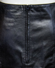 Wilsons Vegan Leather Skirt Size 10 (SKU 000038) - Designers On A Dime - 5