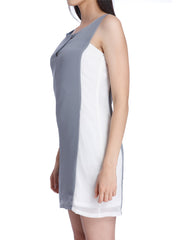Elsie Grey White dress