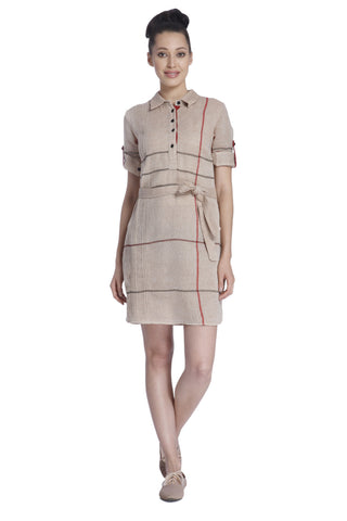 Hannah Cotton Shirt Dress
