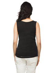 Kahina Chequered Tank Top - ETHER  - 3