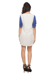 April T-Shirt Sleeve Dress - ETHER  - 4
