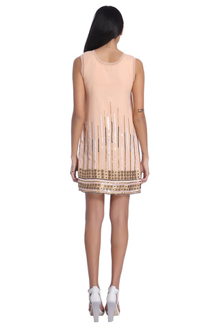 Alice Raw Edge Shift Dress