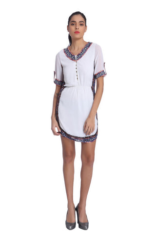June Shirt Dress - ETHER  - 1