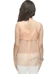 Winter-Blush Yoke Flare Top - ETHER  - 5