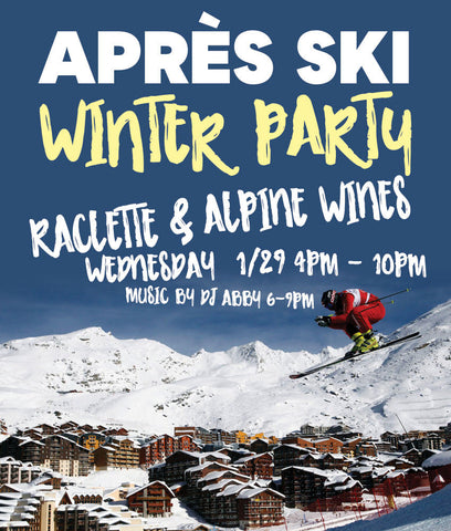 Apre Ski Winter Party Promotional Poster