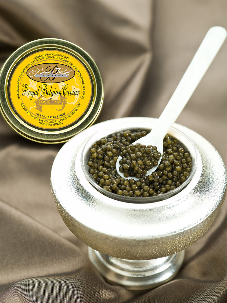 SUSTAINABLY SOURCED CAVIAR