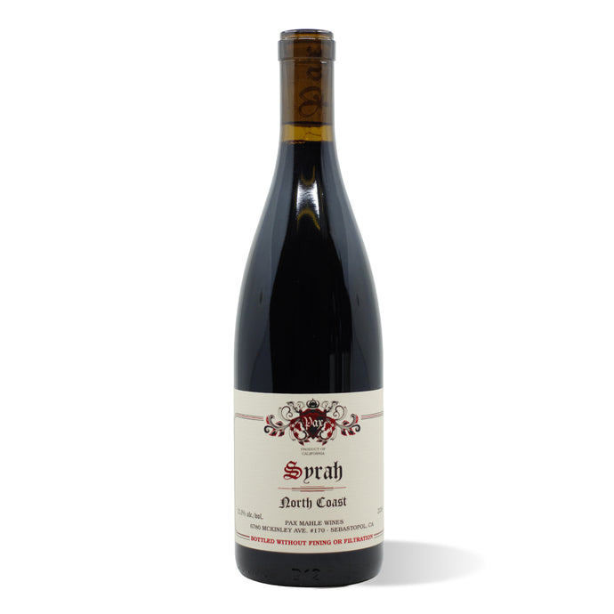 Pax Mahle North Coast Syrah 2018