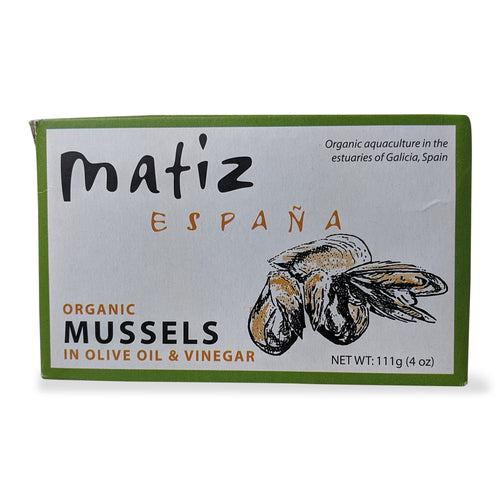 Matiz Mussels in Olive Oil and Cider Vinegar
