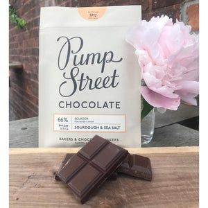 Pump Street Chocolate - Sourdough & Sea Salt 66%