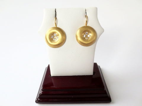 Marika Desert Gold - Ball Earrings